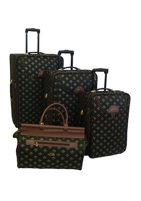 American Flyer Lyon 4-Piece Luggage Set