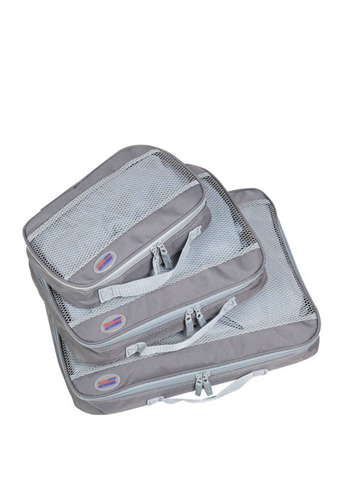 American Flyer 3 Piece Set Perfect Packing Cubes