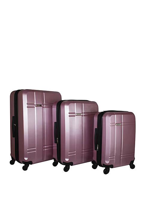 Isaac Mizrahi Conway 3-Piece Hardside Spinner Luggage Set