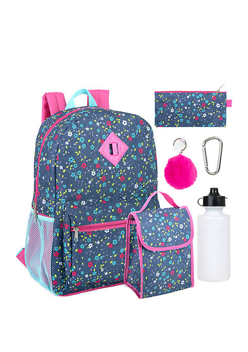 Kelty® 6 in 1 Floral Backpack