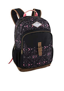 Courtney Vinyl Bottom Backpack