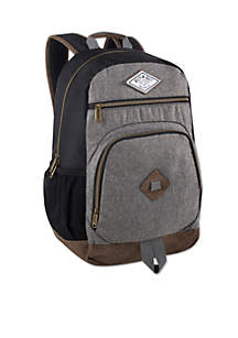 Gina Vinyl Bottom Backpack
