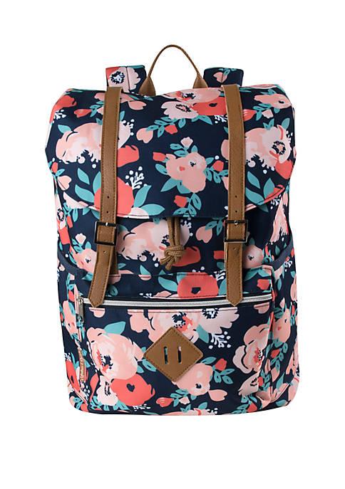 Kelty® Madison & Dakota Floral Drawstring Backpack