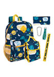 Space 6 in 1 Backpack Set