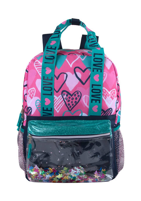 Confetti Embellished 3 in 1 Backpack Set