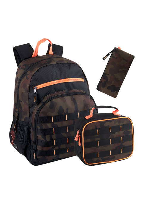 Lightning Bug Camo Ballistic 3 in 1 Backpack