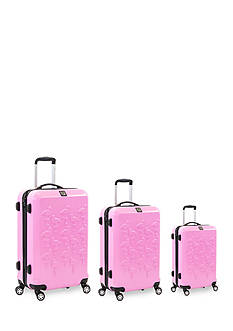 ful® Flamingo Hard Case Expandable Spinner Upright Luggage