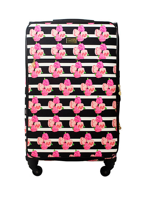 Petunia Soft Sided Rolling Luggage Suitcase