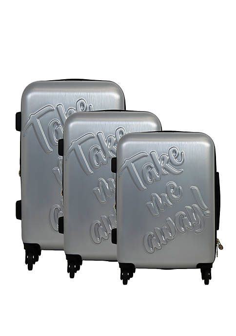 Take Me Away 3 Piece Nested Luggage Set
