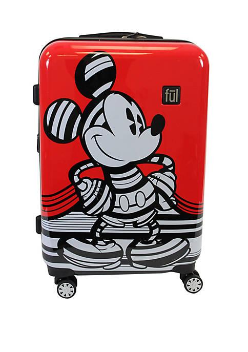 Striped Mickey Luggage