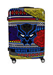 Black Panther Tribal Art Rolling Luggage