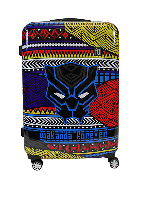 ful® Black Panther Tribal Art Rolling Luggage