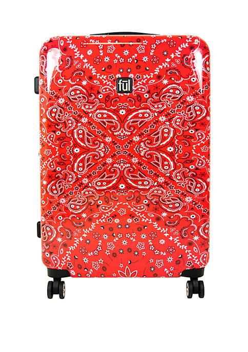 ful® Printed Bandana Rolling Luggage