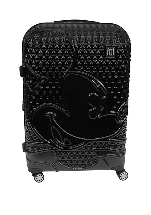 ful® Textured Mickey Hard Sided Rolling Luggage