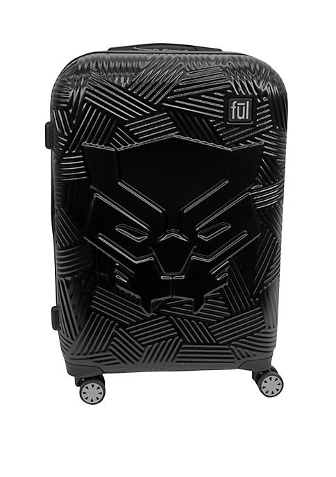 ful® Black Panther Icon Molded Rolling Luggage
