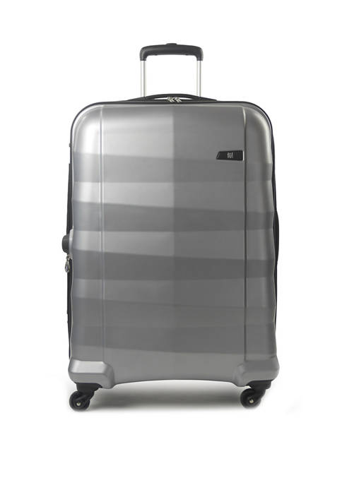 ful® Radiant Series Hardsided Rolling Spinner Suitcase, Silver