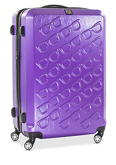 ful® Sunglasses Hard Case Expandable Spinner Upright Luggage