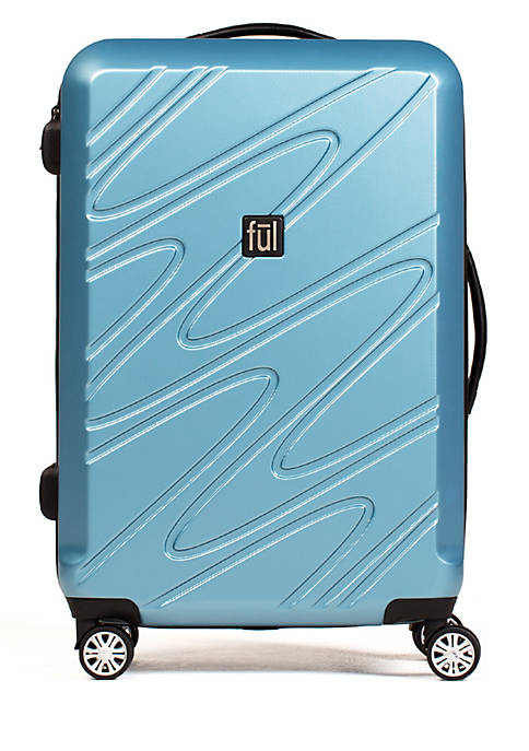 ful® Scribble 25-in. Spinner Suitcase