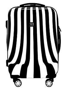 White Swirl 20-in. Hardside Spinner Luggage