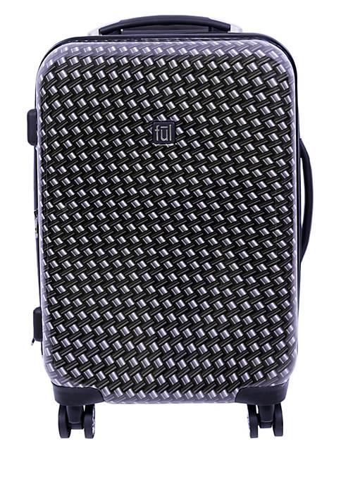 Metal Chain Swirl 20-in. Hardside Spinner Luggage