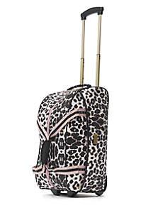 Macbeth Ciao Bella Leopard Print Rolling Duffel Bag