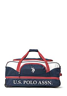 U.S. Polo Assn. U.S. Polo Assn. Deluxe Rolling Duffel Bag