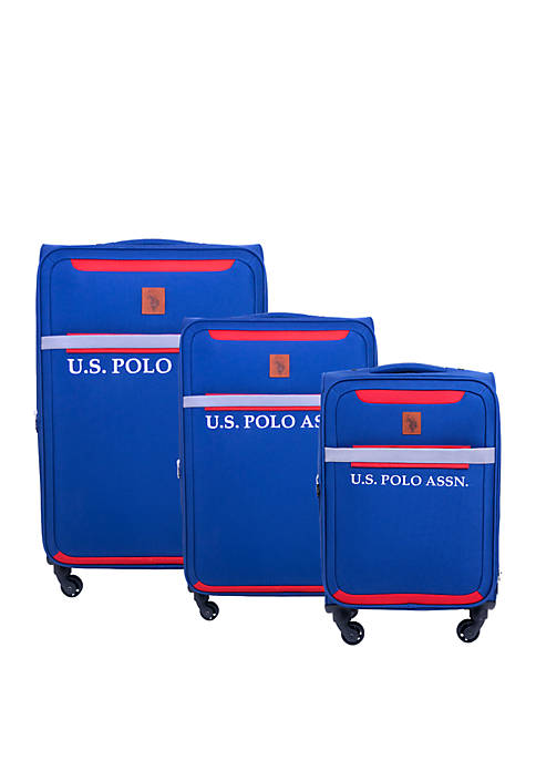 3-Piece Luggage Set 29 in, 25 in, and 21 in Nested Suitcases