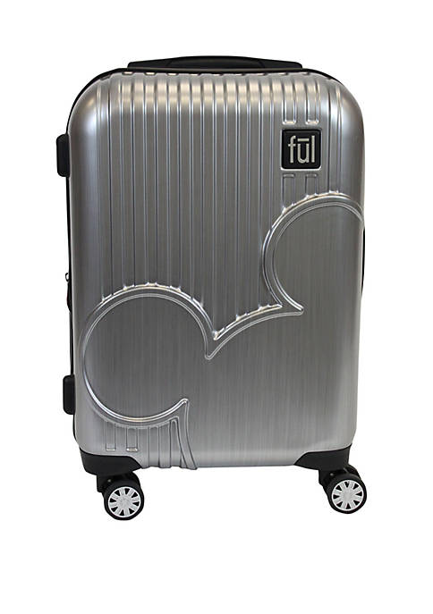ful® Molded Mickey Icon Rolling Luggage