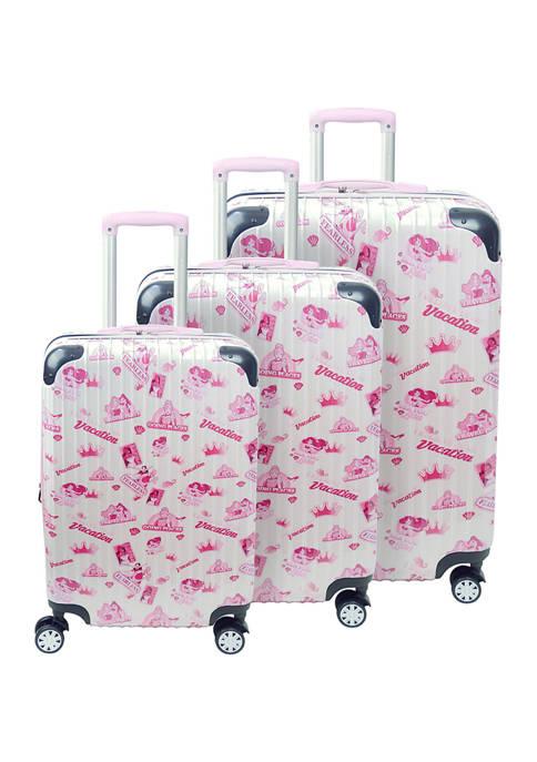 ful® Disney® 3 Piece Group Badges Luggage Set