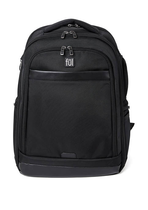 "ful® Agent Business Backpack, Holds 17.5"" Laptops"