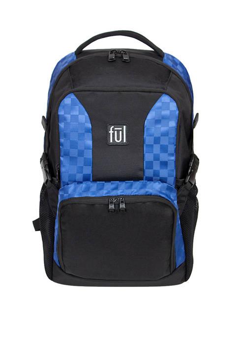 ful® Jasper Laptop Backpack, Blue