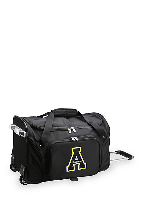 Denco Appalachian State Wheel Carry on Duffel