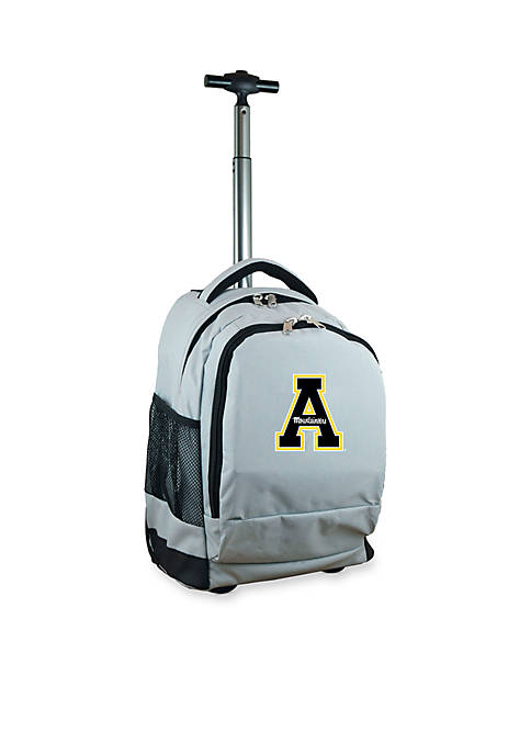 Mojo Appalachian State Premium Wheeled Backpack