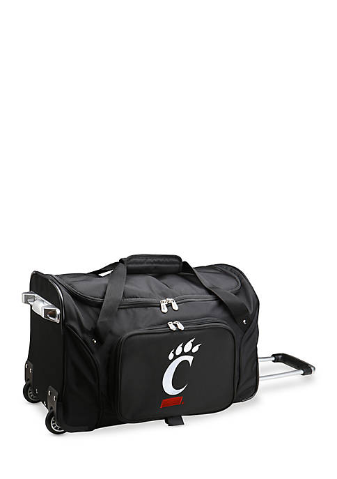 Denco NCAA Cincinnati Rolling Bottom Duffel