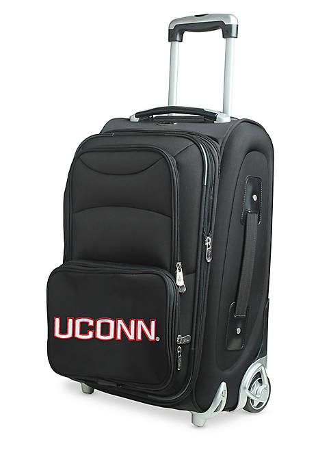 Denco NCAA Connecticut Softsided Luggage Carry-on