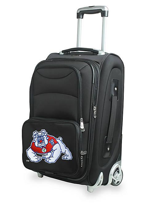 Denco NCAA Fresno State Luggage Carry-On