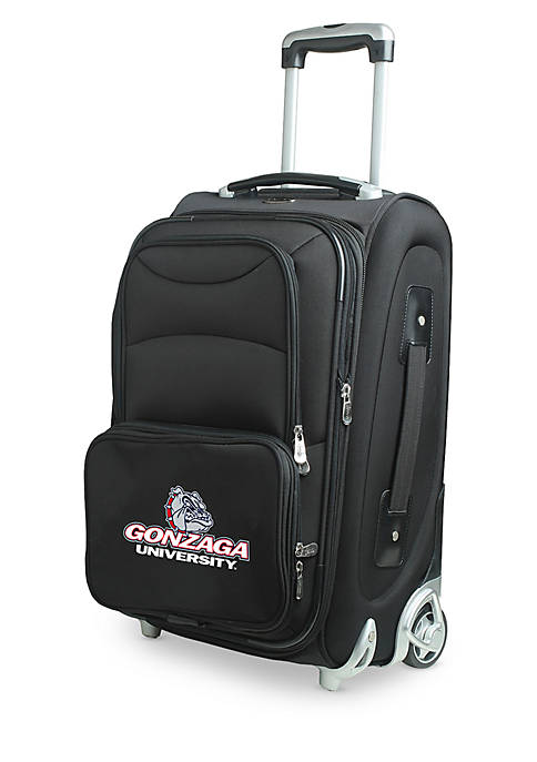 Denco NCAA Gonzaga Luggage Carry-On 21in Rolling Softside