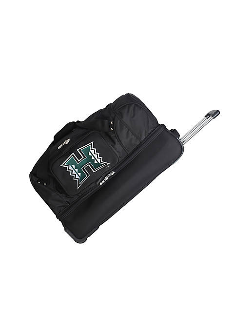 Denco NCAA Hawaii 27-in. Rolling Bottom Duffel in