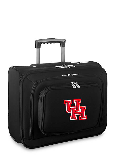 Denco NCAA Houston Overnighter Bag in Black