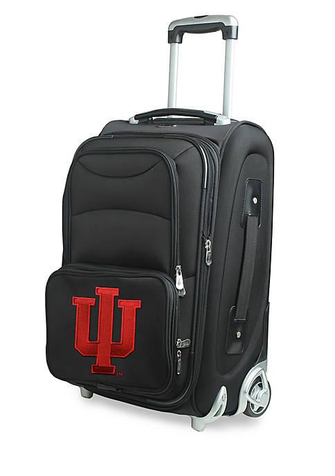 Denco NCAA Indiana Softsided Luggage Carry-on Rolling