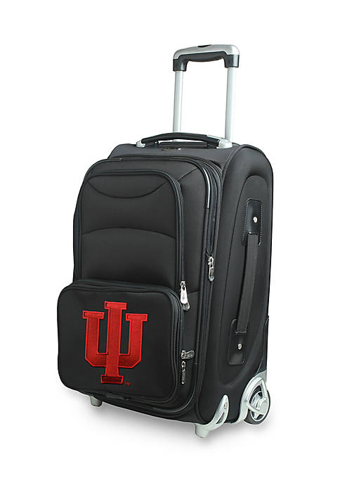 Denco NCAA Indiana Wheeled Duffel Nylon Bag