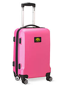 Iowa 20-in. 8 wheel ABS Plastic Hardsided Carry-on