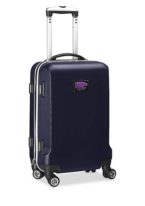 Kansas State 20-in. 8 wheel ABS Plastic Hardsided Carry-on
