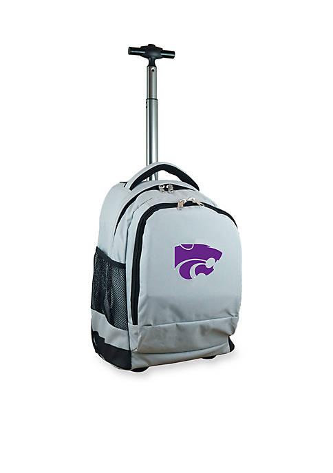 Mojo Kansas State Premium Wheeled Backpack
