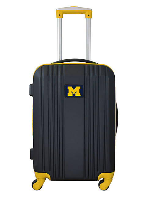 Mojo NCAA Michigan 21-in. Hardcase Carry-on Luggage