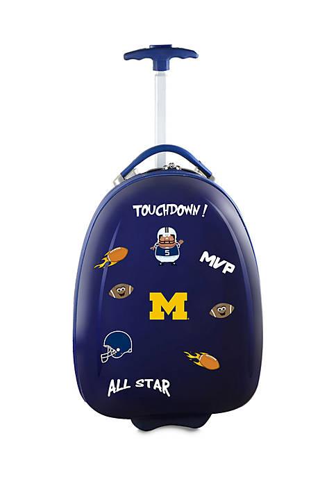 NCAA Michigan Kids Pod Luggage