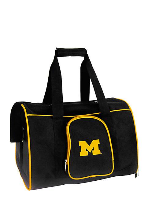 NCAA Michigan Premium 16-in. Pet Carrier