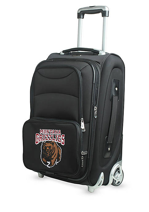 Denco NCAA Montana Wheeled Duffel Nylon Bag