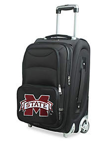 Denco NCAA Mississippi State 20-in. Softsided Rolling Carry-On