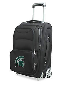 Denco NCAA Michigan State Rolling Carry-On Luggage